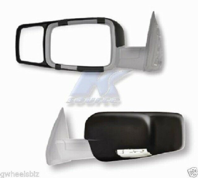 CLIP-ON TOWING MIRROR tow extension extend side rear view hauling for dod