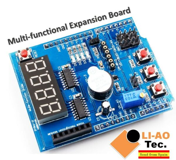 Multifunctional Multi-functional Expansion Board Kit Based Learning for Arduino