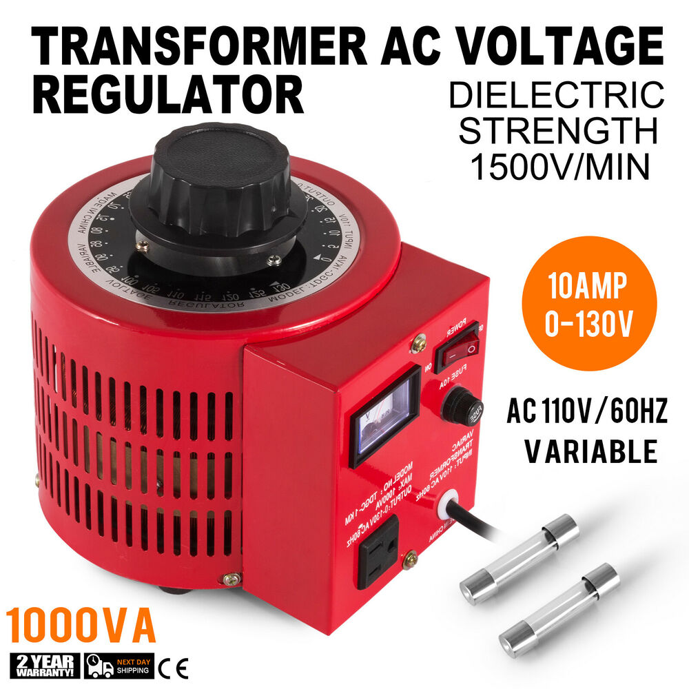 New 110v Auto 1000w 10amp Variac Variable Transformer Ac Voltage Adjustable Regulator 3 Ampere 928879253290 Ebay