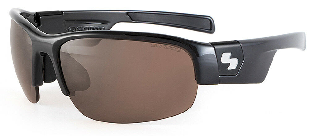862ad452c6eb Sundog EVO TrueBlue Specialist Golf Sunglasses Black   Brown Lens  771660657117