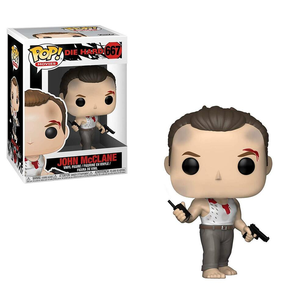 Funko Pop Movies Die Hard John McClane Vinyl Figure Item #34868