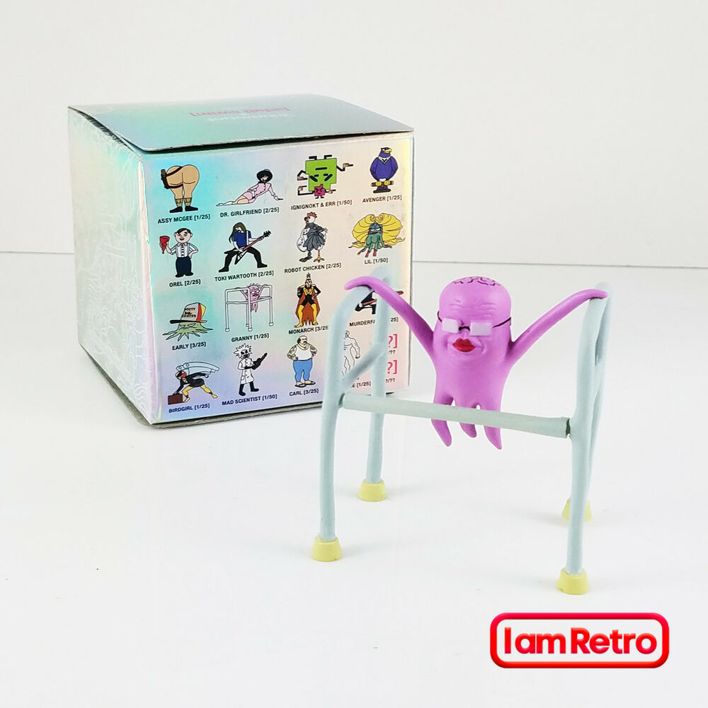 Granny Adult Swim Mini Series One Made By Kidrobot Brand New In