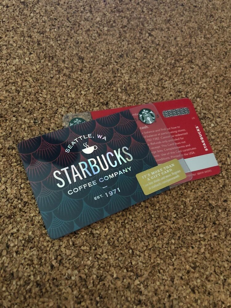 Starbucks Card Coffee Company 1971 Scales 2018 New Pin Intact 6157