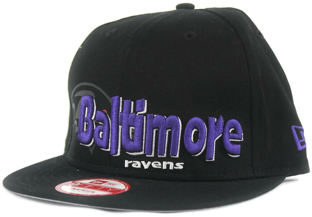 Details about NWT Baltimore Ravens New Era 9Fifty Snapback Cap Sz Small  Medium Hat NFL Size M 1c2e034e4