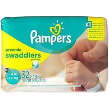 Pampers Swaddlers XS Preemie Diapers, P&G, 32 count 1 pack