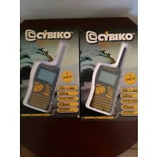 Cybiko Wireless Entertainment System - Lot of 2 New in the box
