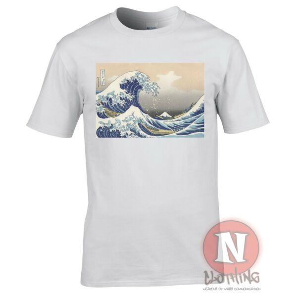 Hokusai The Great Wave t-shirt Aesthetic Japanese vaporwave classic art