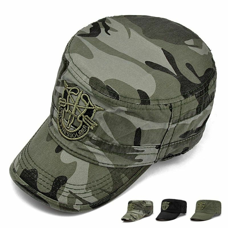 d46ab729ba8 Details about Green Beret US Army Special Forces Cap Airborne Military  Soldier Visor Men Hats
