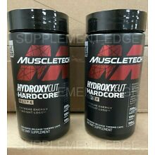 MuscleTech Hydroxycut Hardcore Elite 100ct. 2 Pack Free Fast USPS Ship