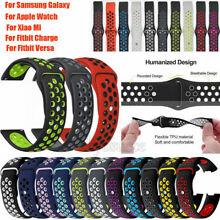 Replacement Silicone Watch Sport Band Strap For Fitbit Charge 3 /Fitbit Versa