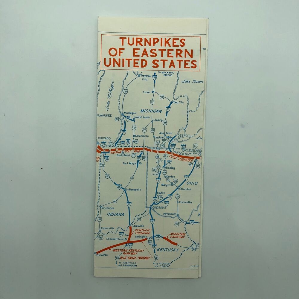 Turnpikes of Eastern United States USA - Map - 1966? | eBay on northwestern united states, map of utah, map of mid usa, midwestern united states, northern united states, map of usa east coast, map of mid atlantic, eastern canada, new south, map of pennsylvania, map of america, map of northeastern usa, northeastern united states, map of delaware, west north central states, map of florida, united states of america, southeastern united states, east coast of the united states, map of rhode island, map of missouri, map of washington, view map of usa, map of virginia, western united states, west coast of the united states, map of new jersey, map of new york city, map of louisiana, map of kentucky, central united states, map of usa states only, map of southeastern usa,