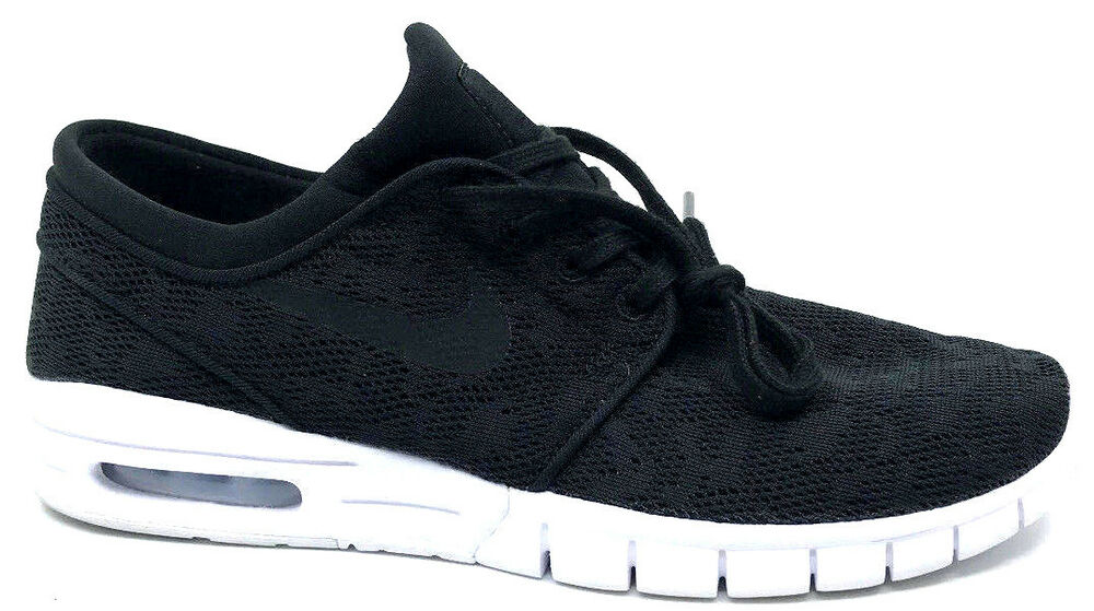 huge discount 1f705 bcd1b Details about Nike SB Stefan Janoski Max Mens Sneakers Black White  631303-022 Size 8