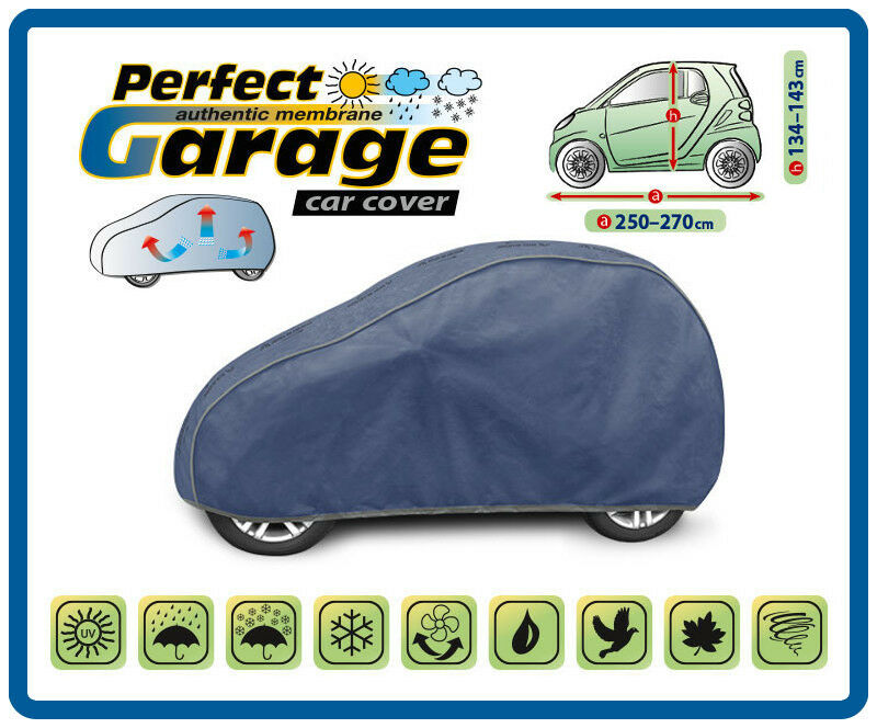 Details About Heavy Duty 4 Layers Car Cover Breathable For Smart Fortwo Waterproof