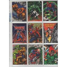 FLAIR MARVEL 1994 INAUGURAL BASE OVER 500 SINGLES TO PICK FROM  EX+.99 EACH