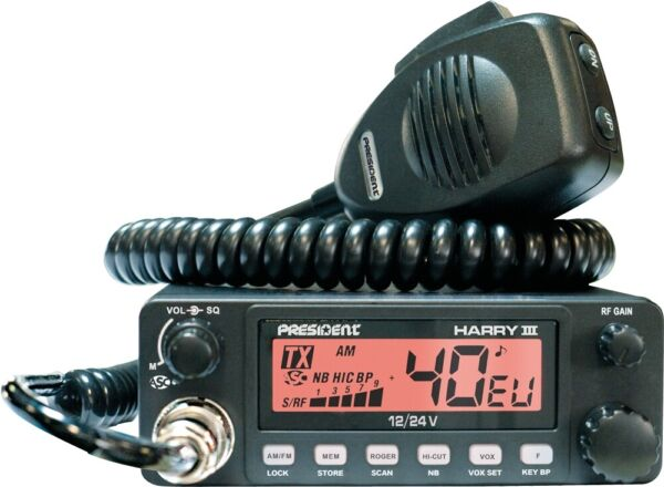 President Harry-3 Mobile CB Transceiver