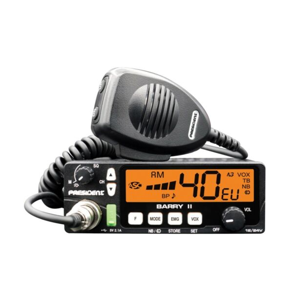 President Barry Mobile CB Transceiver