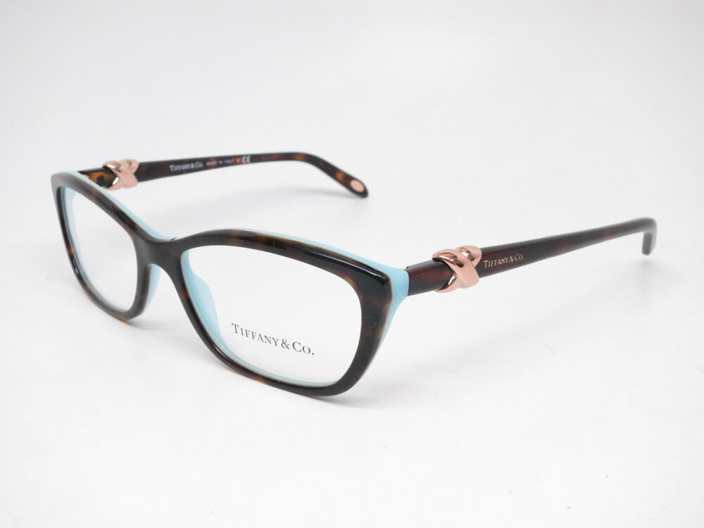 a6a67057592 Details about Tiffany   Co TF 2074 8216 Havana   Blue Eyeglasses 52mm Rx-able  TF2074