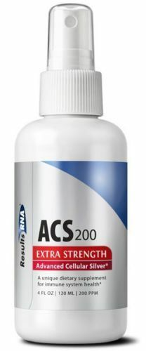 Results RNA ACS 200 EXTRA STRENGTH Advanced Cellular Silver 4OZ *(3 Bottle Sale)