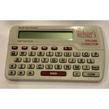 Franklin Websters Spelling Corrector With Manual Free Shipping