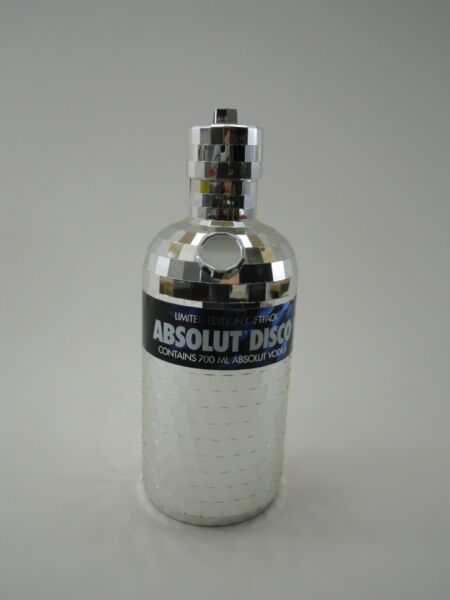 ABSOLUT DISCO VODKA 0,7 l. Limited Edition  °