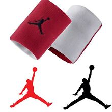 Nike Air Jordan Wristbands Red White 619352-695 One Size Fits Most