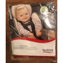 Britax Head and Body Support Pillow New in Package- Grey and Beige