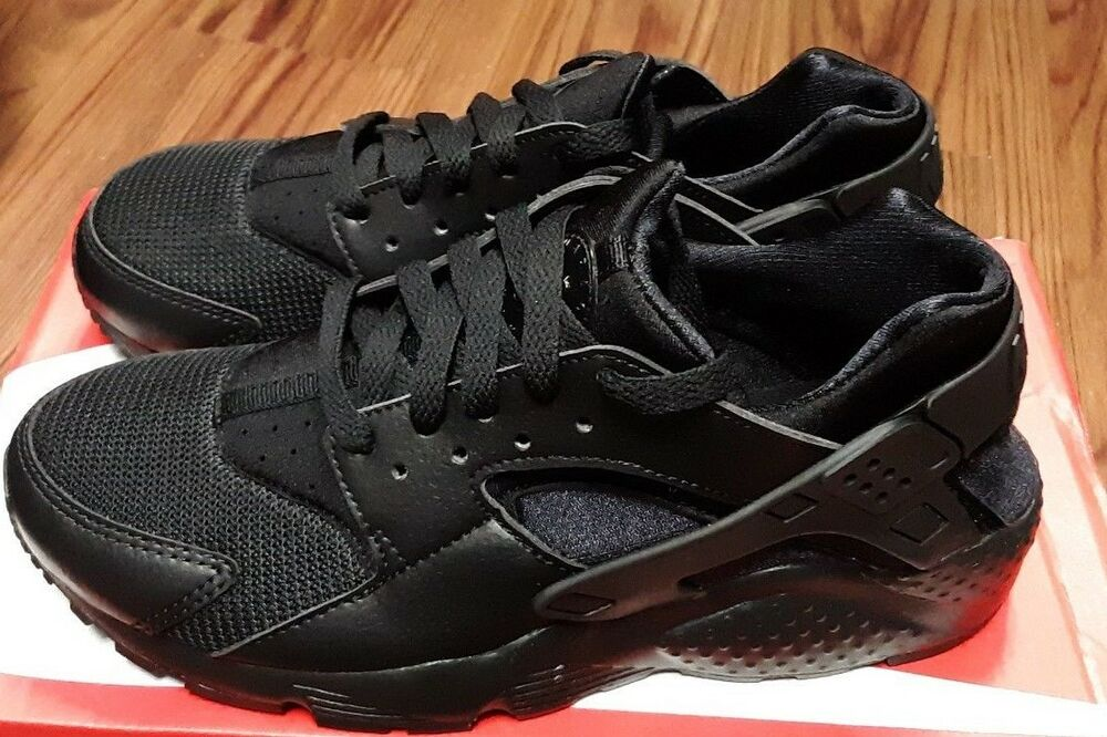 info for b736e 23e2c Details about 654275-016 Nike Huarache Run (GS) Grade School Kids Athletic  Shoes - Black