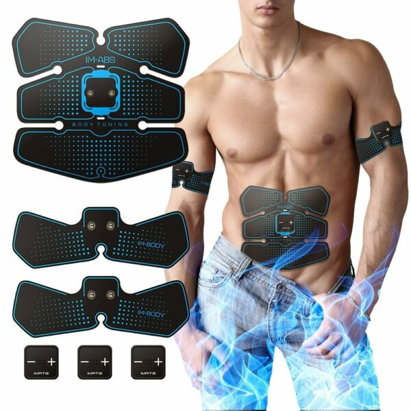Hatsubi ABS Stimulator,Abdominal Muscles Toner, EMS Muscle Stimulator, ABS Train