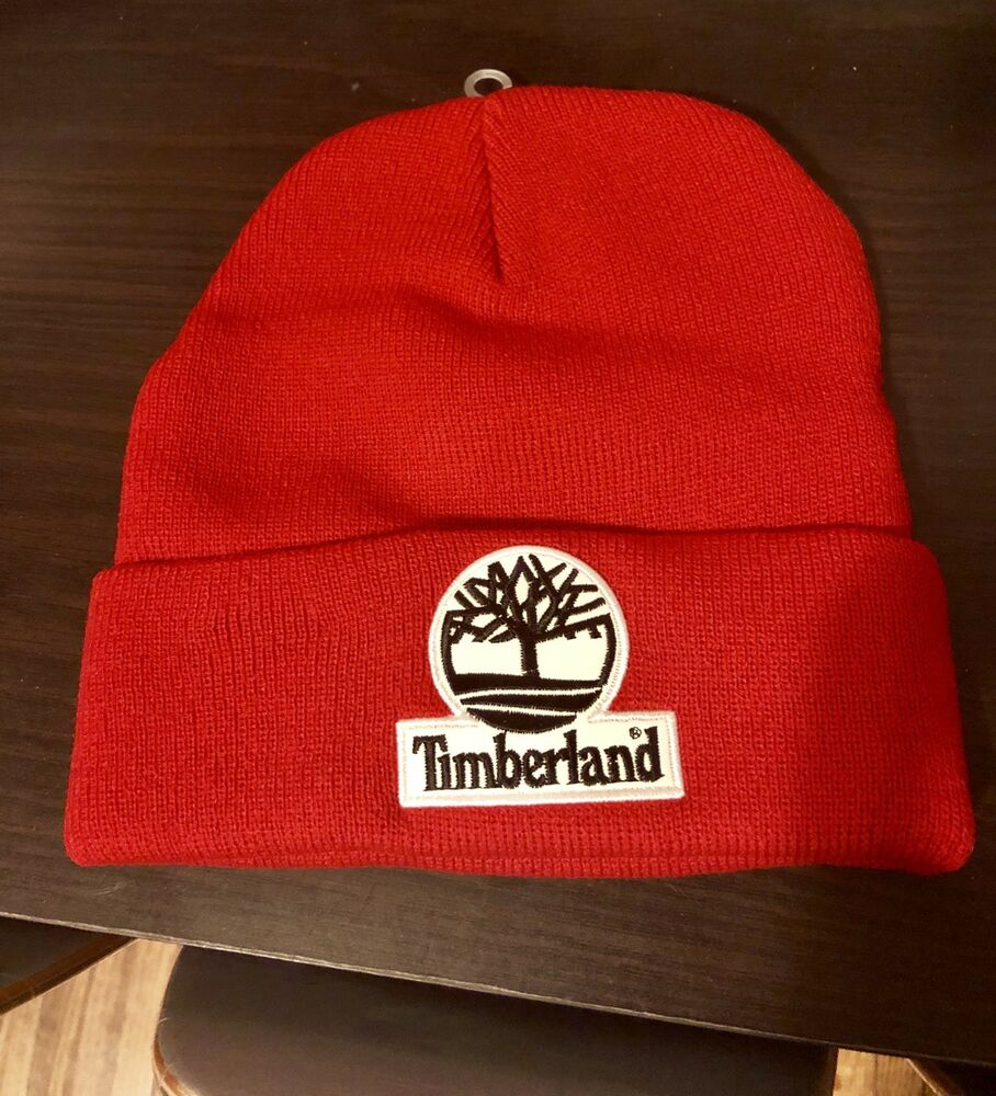 4a7cba9433 Details about Supreme Timberland FW16 Red Beanie