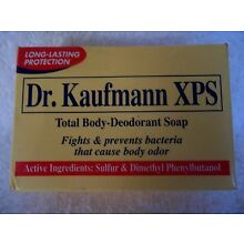 Sulfur XPS Dr. Kaufmann Total Body-Deodorant Long Lasting Protection Soap 80g