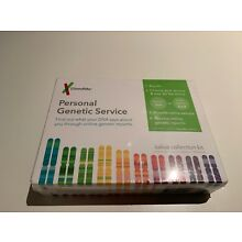 NEW SEALED 23andMe Personal Genetic Saliva Collection Kit (lab fee not included)