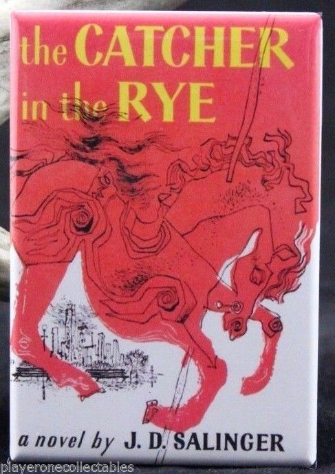 The Catcher In The Rye Book Cover 2 X 3 Fridge Magnet J D