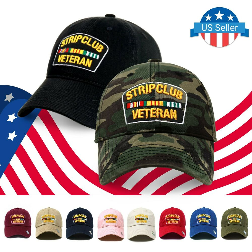 d9bd9b48ab1c2 Details about ChoKoLids Strip Club Veteran Dad Hat Cotton Baseball Cap Polo  Style Low Profile