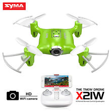 RC Quadcopter Drone with HD WIFI Camera Drone FPV Syma X21W 2.4G 4CH 6-Axis Gyro