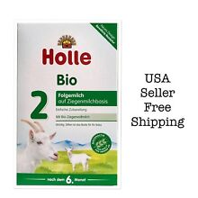 Holle Organic Goat Milk Formula Stage 2 400g FREE SHIPPING 08/2019,4boxes