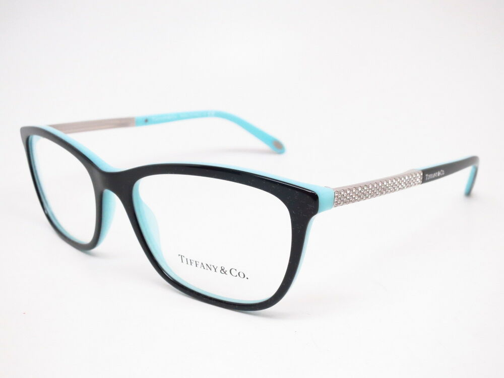c74c139814 Details about New Authentic Tiffany   Co TF 2150-B 8055 Black   Blue  Eyeglasses 54mm Rx-able