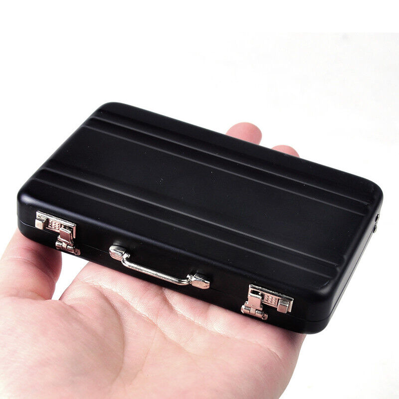 metal mini briefcase suitcase business bank card name card
