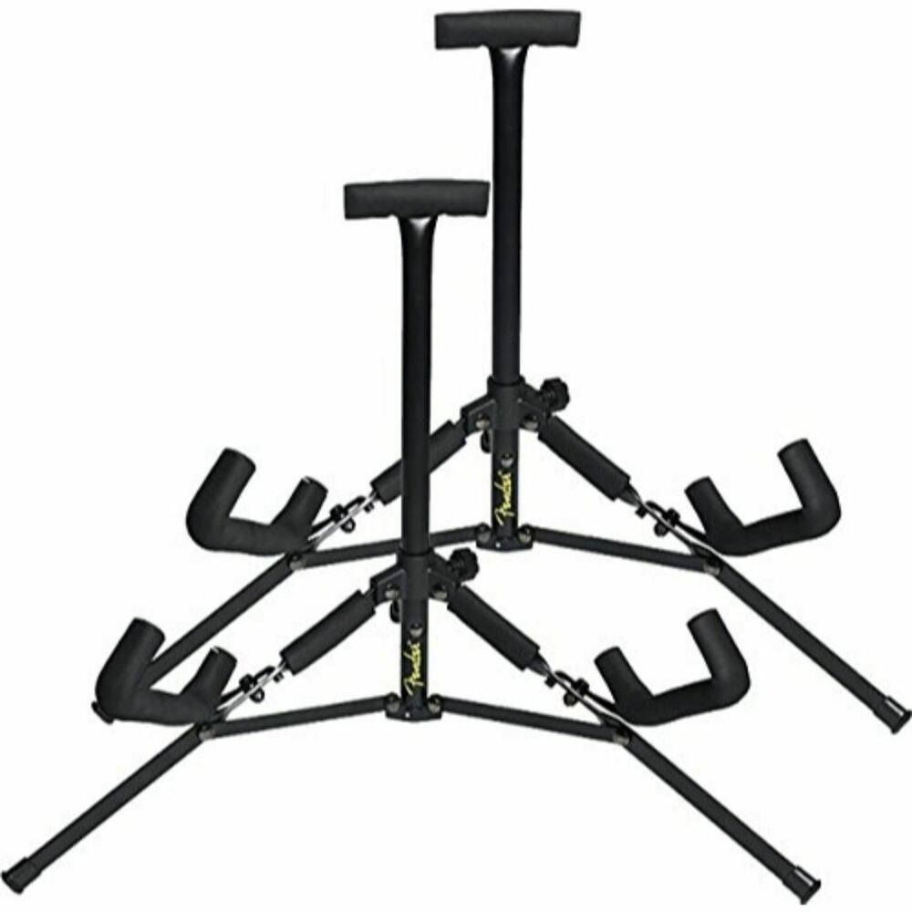 New Fender Mini Acoustic Guitar Stand 2 Pack 885978689583