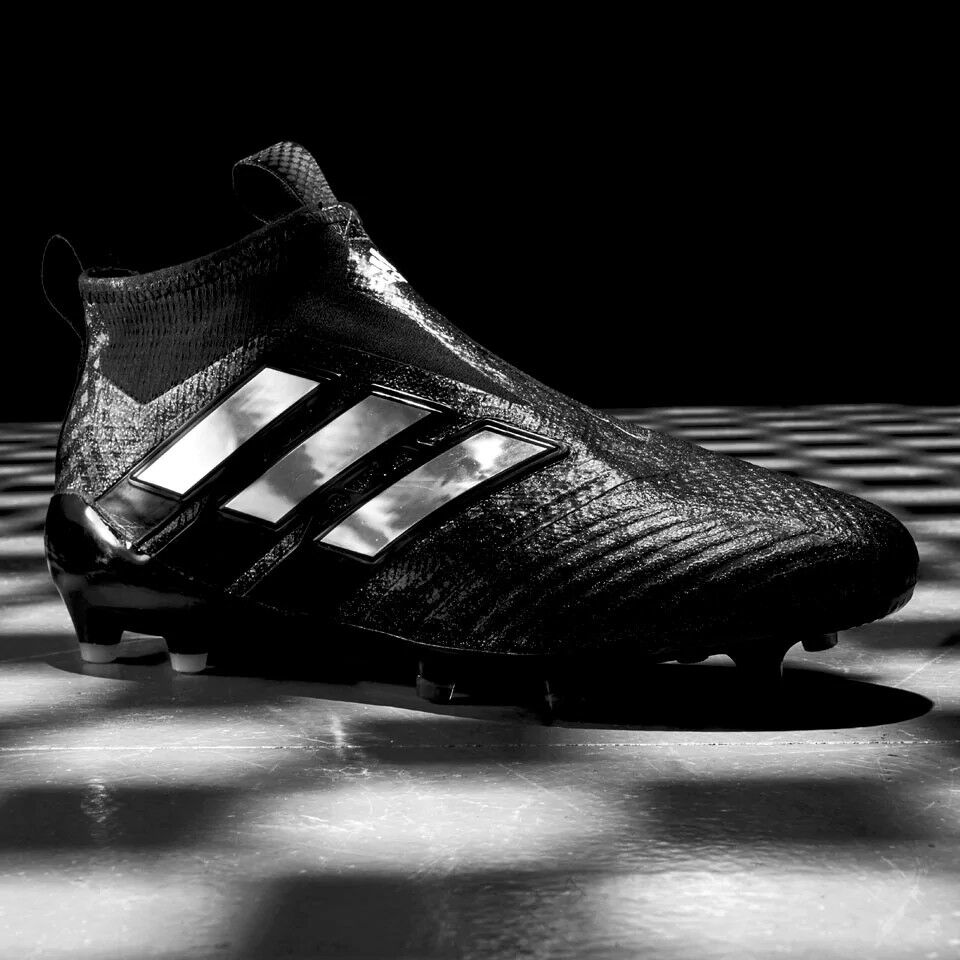 bf41975204bbe7 Details about adidas Ace 17+ Purecontrol FG Football Boots Core Black  Chequered Laceless
