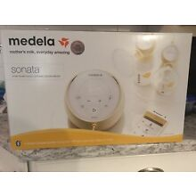 Medela Sonata Smart Double Electric Breast Pump - Brand New, Factory Sealed