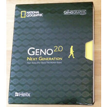 National Geographic Geno 2.0 Next Generation DNA Test Kit  (exp. January 2020)
