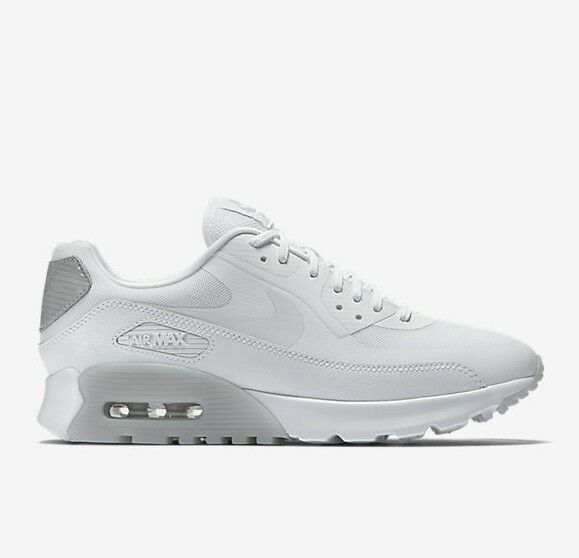6b9b289267 Details about Wmns Nike Air Max 90 Ultra Essential UK 5 EUR 38.5 White Wolf  Grey 724981 100