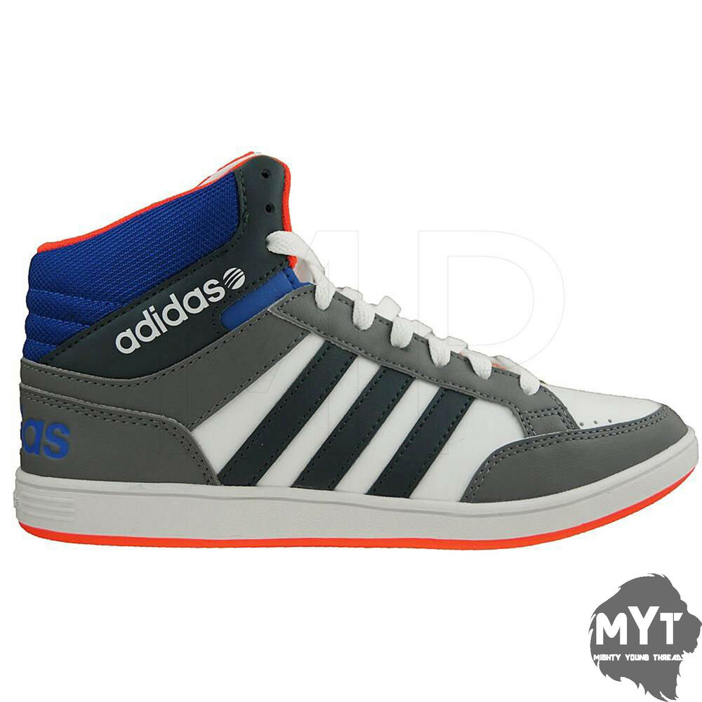 e971669dc83 Details about New adidas Hoops Mid Men's Hi-Top Sneakers Trainers adidas NEO