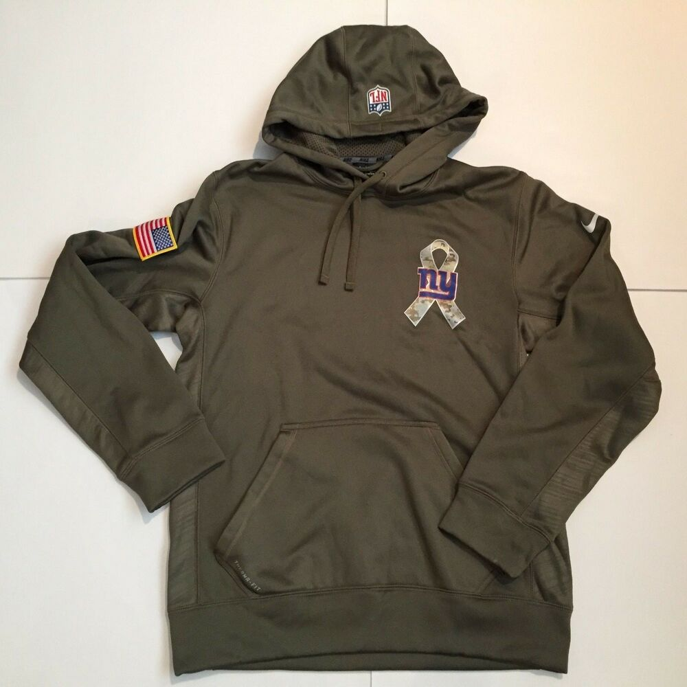 Details about Mens Nike New York Giants NFL Salute to Service Hoodie  Therma-Fit Olive Sz S EC 9a18c7aeb