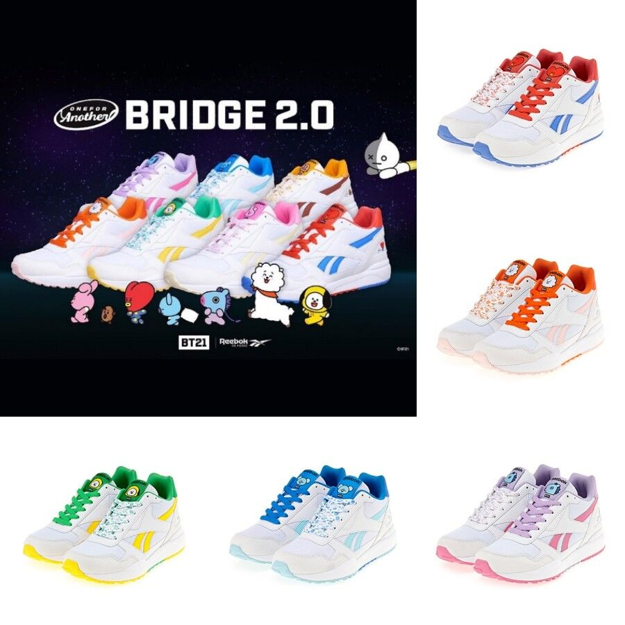 a6d1323050b Reebok x BT21 Authentic REEBOK ROYAL BRIDGE 2.0 7 Characters Limited Shoes