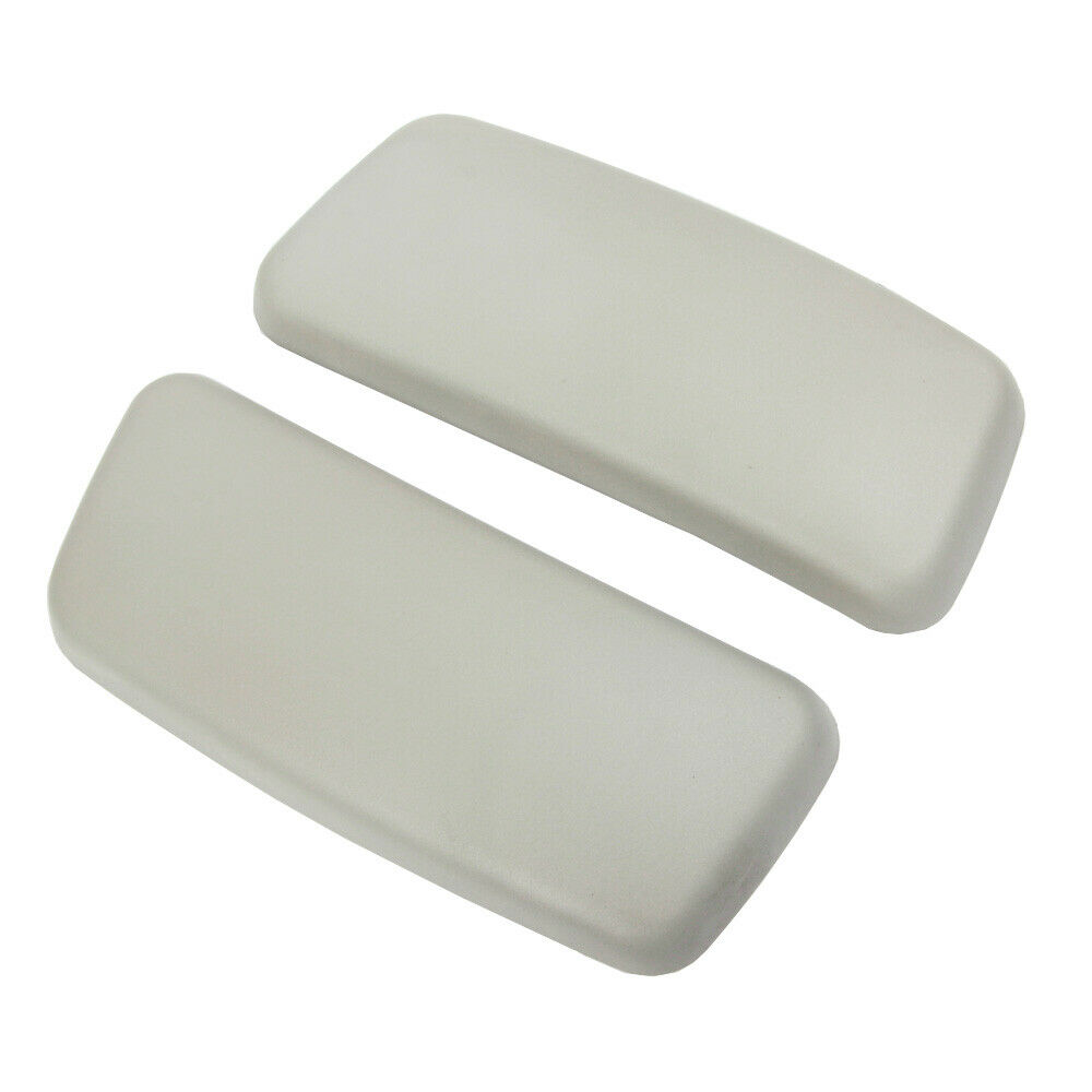 Brand New Gray Arm Pads Caps Replacement For Haworth Zody