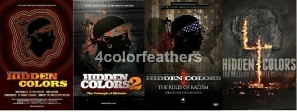 HIDDEN COLORS COLLECTION PART 1, 2, 3 & 4 COMPLETE SPECIAL 4 DVD COLLECTION SET