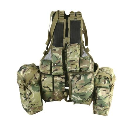 img-South African Vest Ideal Large Compartments BTP/MTP Cadet Military Army K