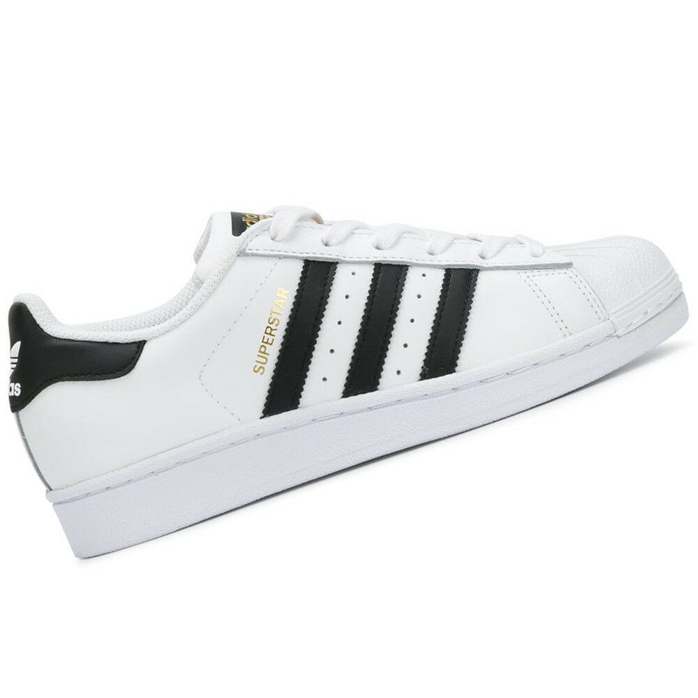 4819d8c95b8a Details about ADIDAS MEN Shoes Superstar - White Black - US Size