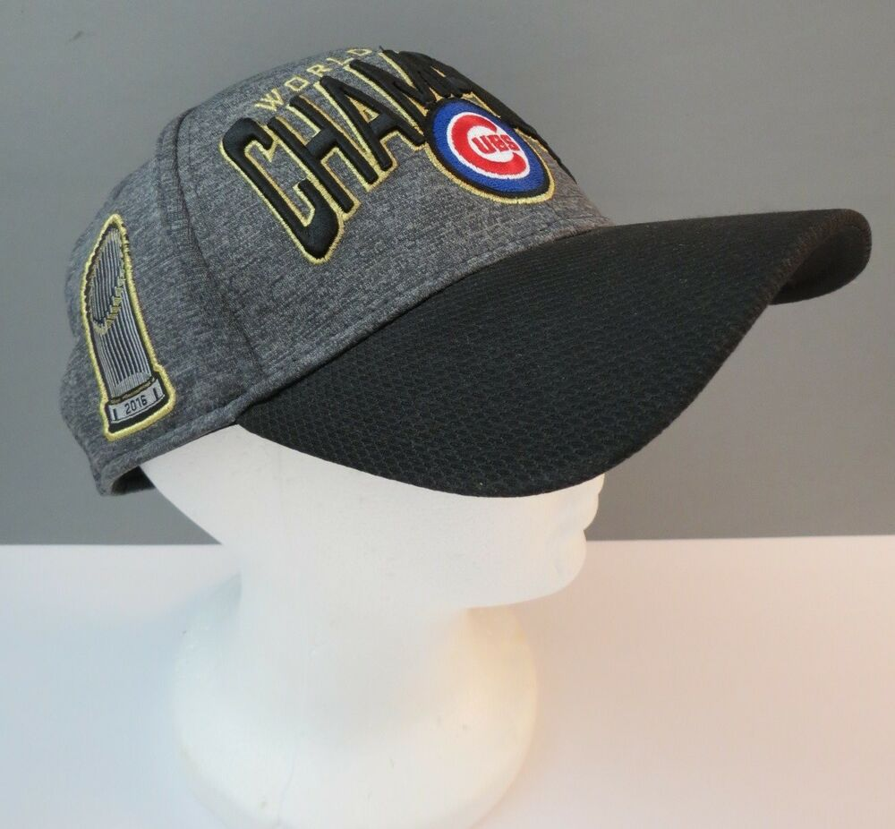 016d0dd6f62 Details about Chicago Cubs 2016 World Series Champions New Era 39Thirty  Baseball Cap One Size